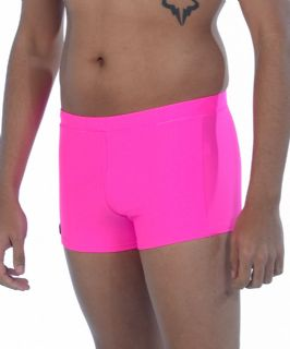 Mens Swimming Trunks - Exotic Pink - Mens Trunks